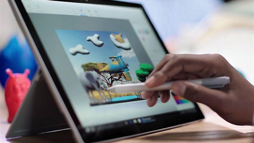 Fall Creators Update porzuci część funkcji Windowsa 10, w tym Painta