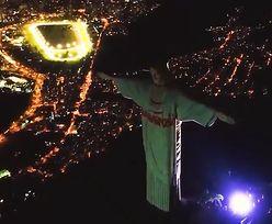 Niesamowity widok. Chrystus z Rio de Janeiro z polskim akcentem