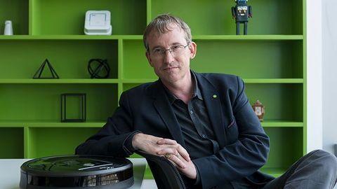 Colin Angle opowiada o początkach i przyszłości domowej robotyki