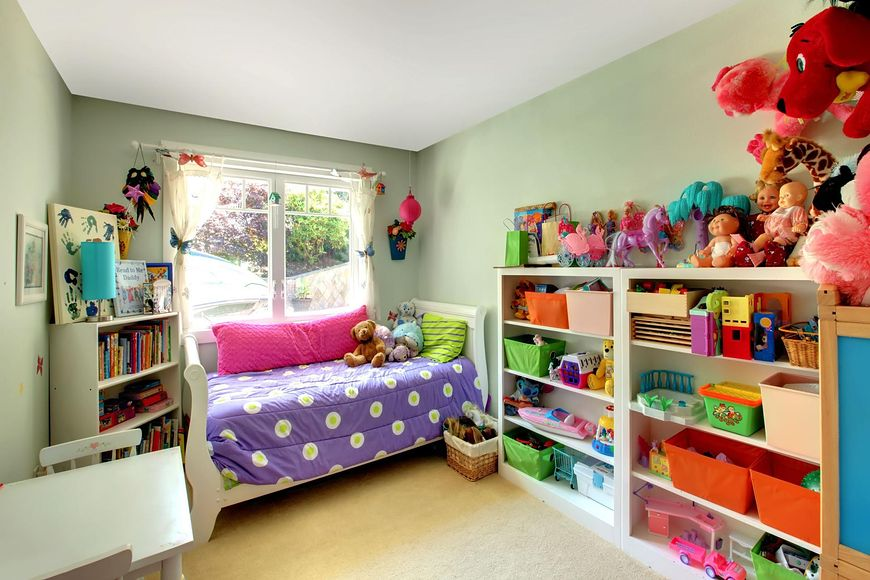 Zabawki w pokoju dziecka