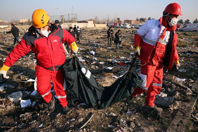 Iran. W katastrofie ukraińskiej maszyny zginęło 176 osób