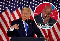 Popłakał się na wizji. Usłyszał wynik wyborów