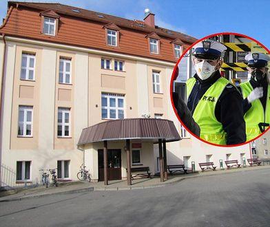 Koronawirus w Polsce. Kwarantanna w bursie w Chojnicach trwa. Do zamkniętych zagląda tylko policja