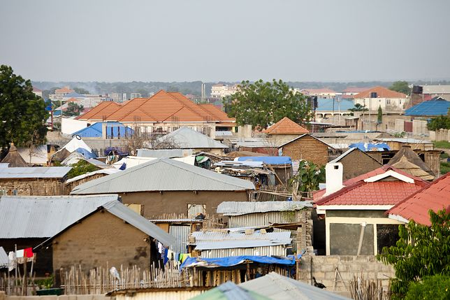 View of Juba, capital of South Sudan