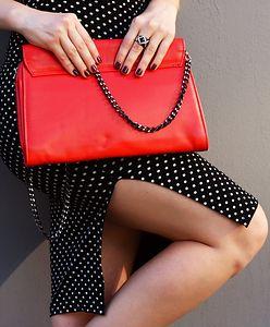 Czerwone luksusowe torebki powyżej 600 zł