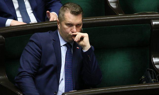 Poseł Przemysław Czarnek, Minister Edukacji Narodowej, Fot. Sławomir Kamiński
