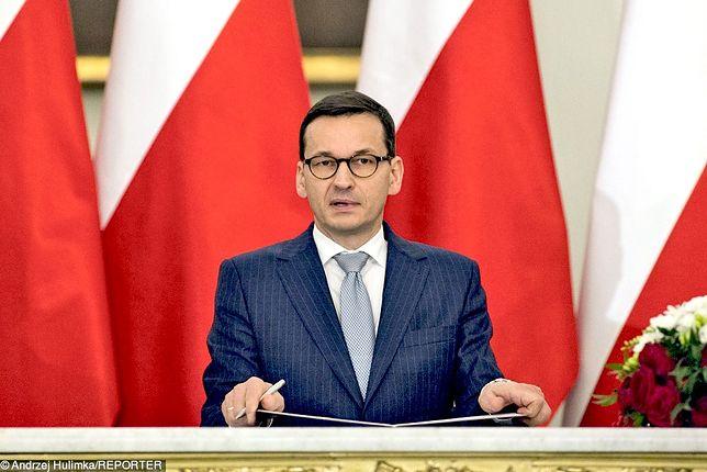 """""""Polska staje po stronie prawdy"""". Mocne oświadczenie premiera Morawieckiego"""