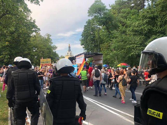 Białystok. Policja pilnuje bezpieczeństwa podczas Marszu Równości