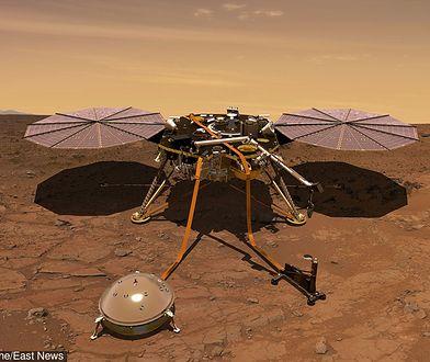 NASA: sonda InSight przesyła kolejne zdjęcia z Marsa. Widać flagę Polski