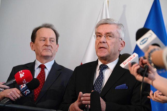 Koronawirus w Polsce. Stanisław Karczewski apeluje do Tomasza Grodzkiego o rezygnację. Chodzi o pobyt we Włoszech