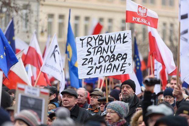 Kijowski: na każdym marszu KOD frekwencja jest coraz większa, zorganizowaliśmy największą manifestację w historii wolnej Polski jaka odbyła się w Warszawie