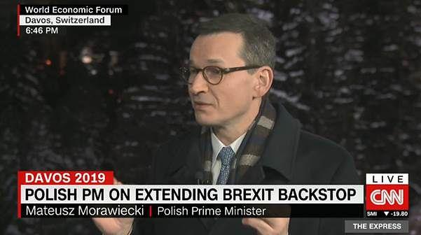 """Mateusz Morawiecki odpowiada na sugestię dziennikarza. """"Chyba żartujesz"""""""