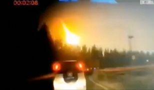 Meteoryt nad Chinami zarejestrowano na wideo