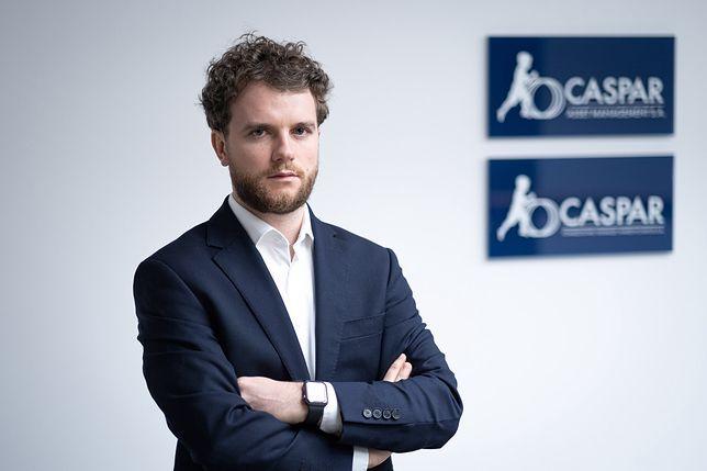 Piotr Rojda, CFA - zarządzający sufunduszem Caspar Stabilny