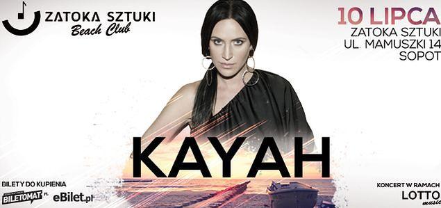 Koncert Kayah w Zatoce Sztuki w Sopocie