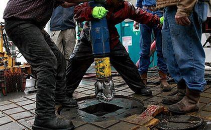 Protesty przeciw wydobywaniu gazu łupkowego przez Chevron