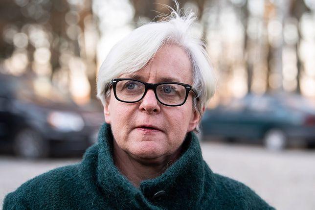 """Wybory prezydenckie 2020. Joanna Kluzik-Rostkowska w programie """"Tłit"""" o Andrzeju Dudzie i Donaldzie Tusku"""