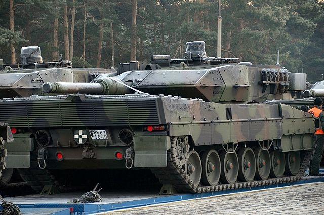 Czołgi Leopardy 2A5 w polskiej armii w komplecie