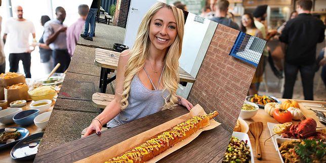Blogerka potrafi zjeść 8 tys. kcal i nadal wygląda świetnie. Przy tak niezdrowej diecie nosi rozmiar 38