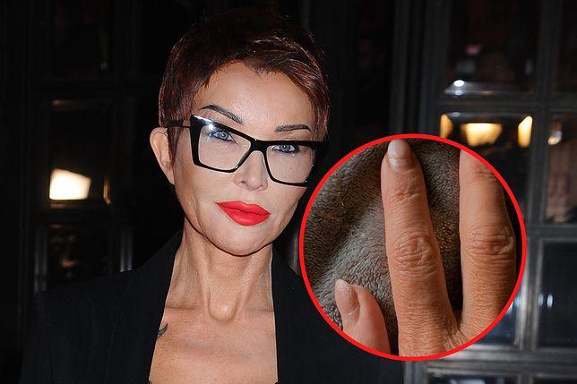 Ewa Minge pokazała paznokcie. Nie wstydzi się tego, że nie była u kosmetyczki