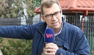 """Maciej Orłoś przy """"Maluchu"""""""