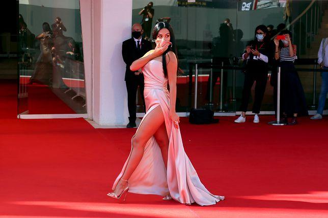 Georgina Rodriguez na Festiwalu Filmowym w Wenecji