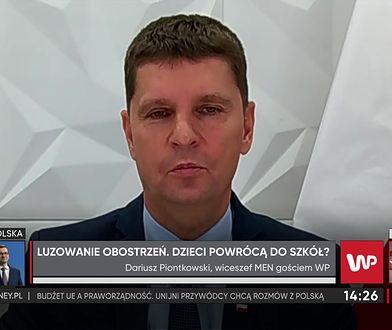 Dariusz Piontkowski o organizacji studniówek. Były minister komentuje, jak mogą wyglądać