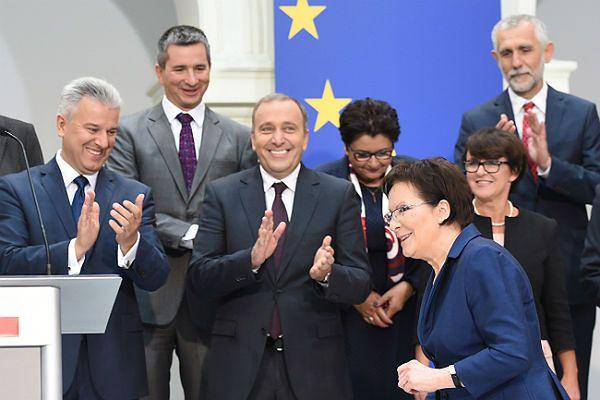 Desygnowana na premiera Ewa Kopacz po ogłoszeniu składu nowego rządu