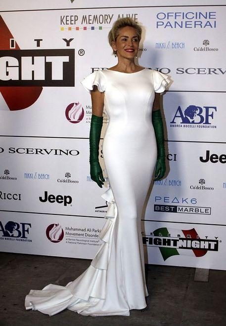 Sharon Stone - zawsze pewna siebie