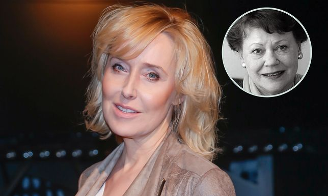Agata Młynarska złożyła hołd aktorce.