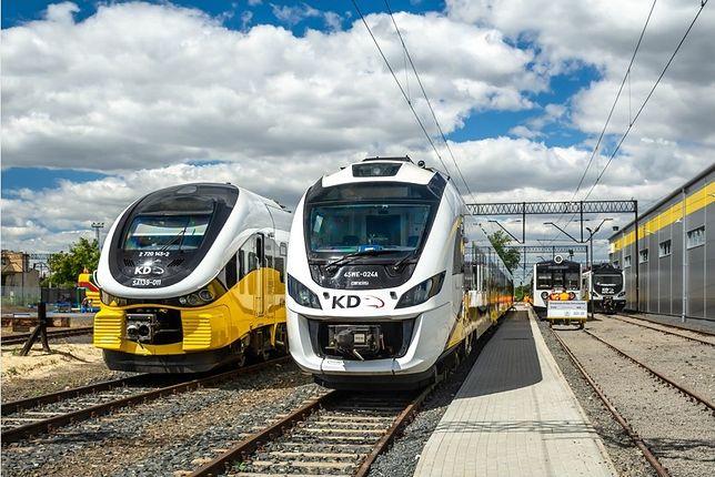 Koleje Dolnośląskie stawiają na komfort pasażerów. Urząd Transportu Kolejowego opublikował budujący raport