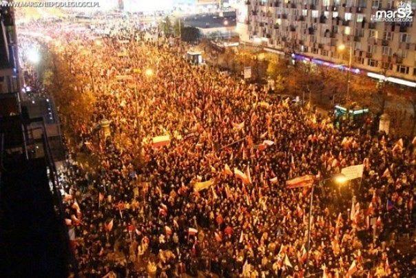 Rekordowa liczba uczestników na tegorocznym Marszu Niepodległości?