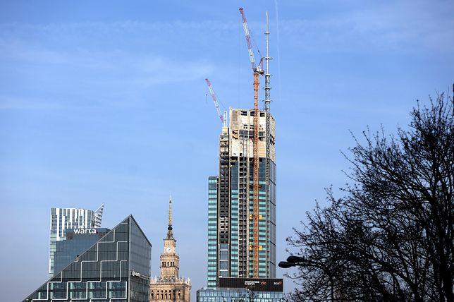 Warszawa. Kompleks Varso Place jest już częściowo ukończony