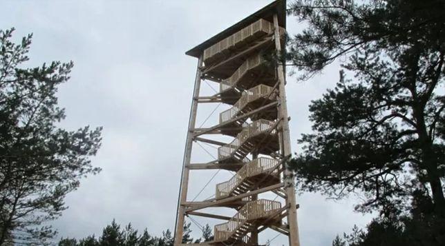 Dwie pary uprawiały seks na wieży widokowej