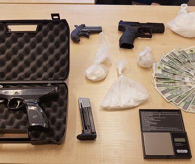27-latek zatrzymany. Miał marihuanę, mefedron, kokainę, heroinę i amfetaminę