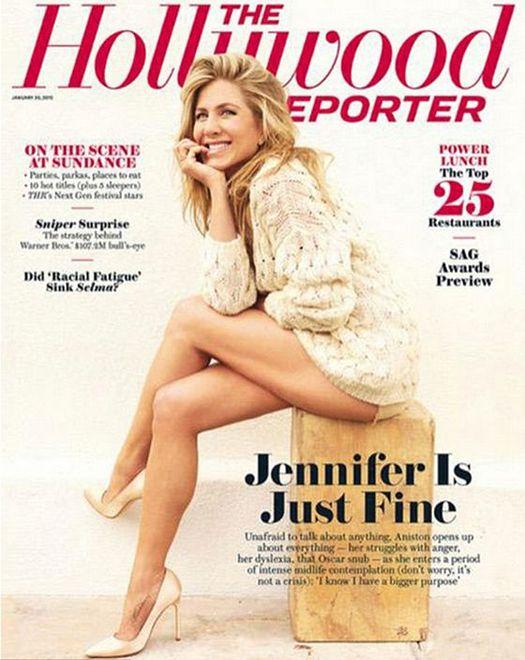 Jennifer Aniston - najzgrabniejsze nogi Hollywood