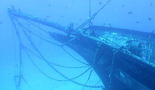 Meksyk - przypadkowe odkrycie na dnie oceanu