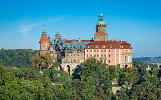 Zamek Książ - planowana główna kwatera Adolfa Hitlera
