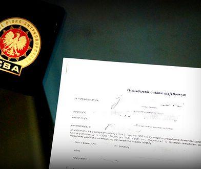 CBA wydało komunikat ws. oświadczenia majątkowego Jarosława Kaczyńskiego