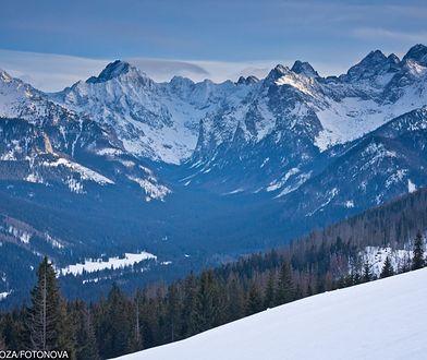 Lawina zeszła na turystów w Dolinie Białej Wody w Tatrach Wysokich na Słowacji