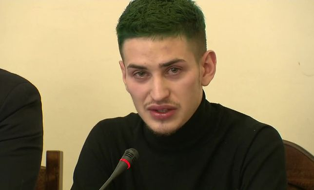 W poniedziałek Dariusz opowiedział swoją historię w Sejmie