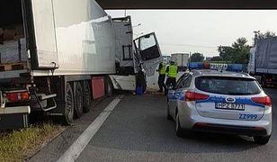Warszawa. Wypadek na S8. Zginął kierowca