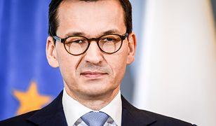 """Mateusz Morawiecki zwrócił się do opozycji. """"Gierki i awantury z wykorzystaniem osób pokrzywdzonych"""""""