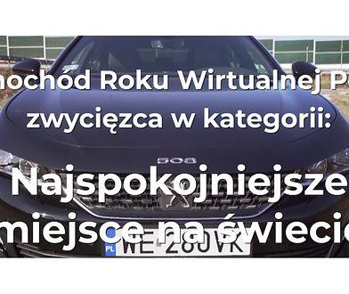 Samochód Roku Wirtualnej Polski 2018. Najspokojniejsze miejsce na świecie: Peugeot 508