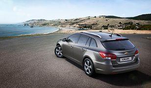 Chevrolet Cruze zadebiutuje w wersji kombi