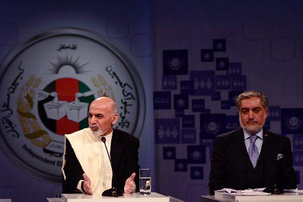 Aszraf Ghani i Abdullah Abdullah