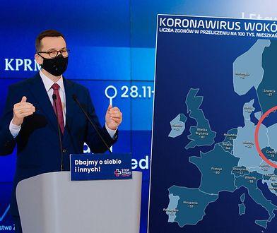 Koronawirus w Polsce. Jesteśmy w światowej czołówce liczby zakażeń i zgonów
