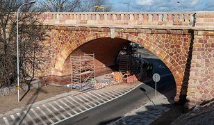 Wyremontowany wiadukt Mostu Poniatowskiego