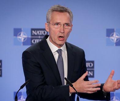 Sekretarz generalny Sojuszu Północnoatlantyckiego (NATO) Jens Stoltenberg