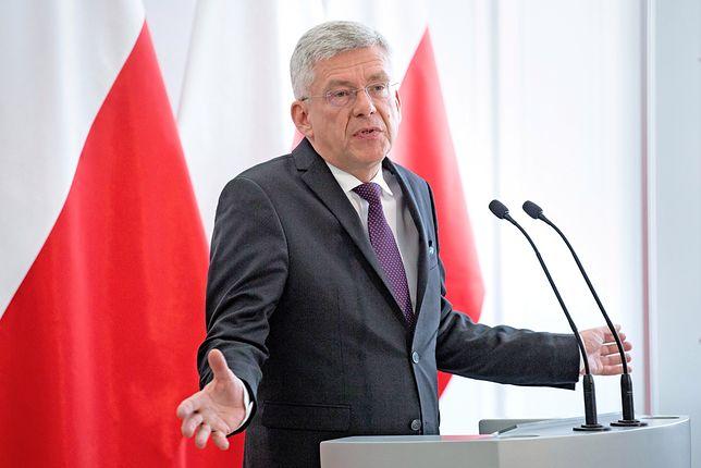 Marszałek Stanisław Karczewski krytycznie o decyzji senatorów ws. Stanisława Koguta